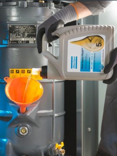 kompresor service serwis sprężarek śrubowych Atlas Copco