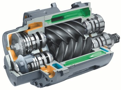 remont modułu śrubowego kompresor service